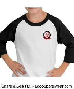 Black Sleeve Baseball T-Shirt Design Zoom